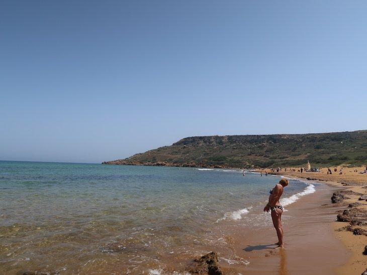Ramla Bay - Gozo - Malta © Viaje Comigo