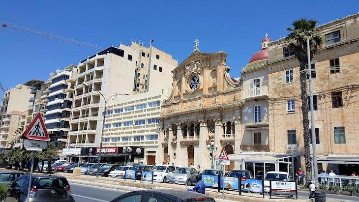 Sliema - - Malta © Viaje Comigo