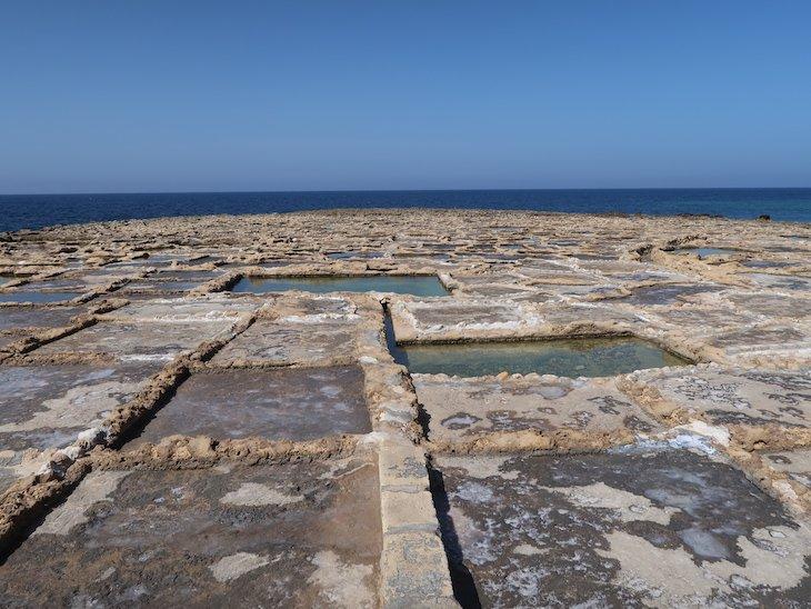 Salinas de Gozo - Malta © Viaje Comigo