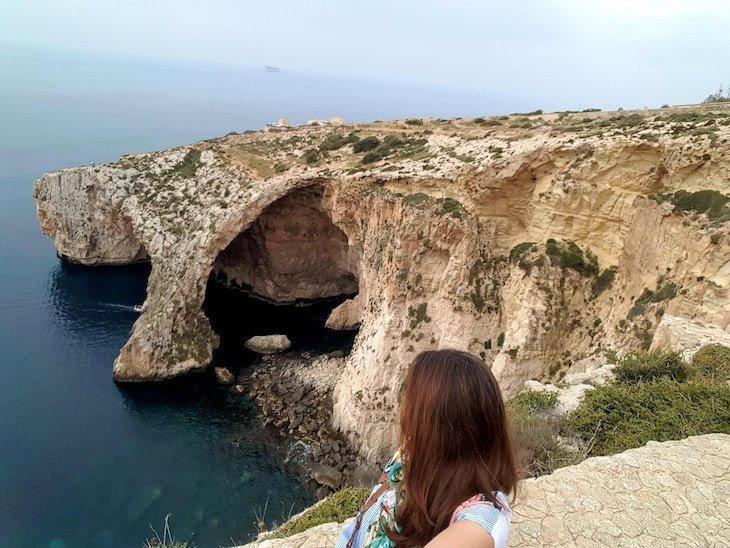 Blue Grotto - Gruta Azul - Malta © Viaje Comigo