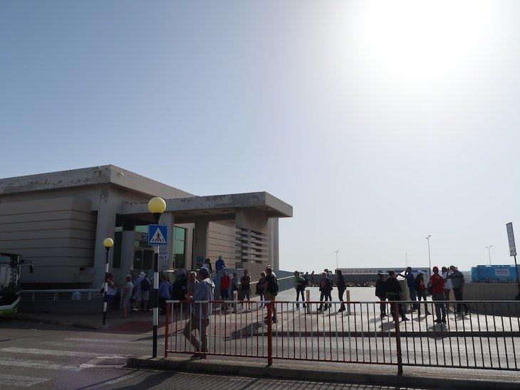 Terminal ferry para Gozo - Malta © Viaje Comigo