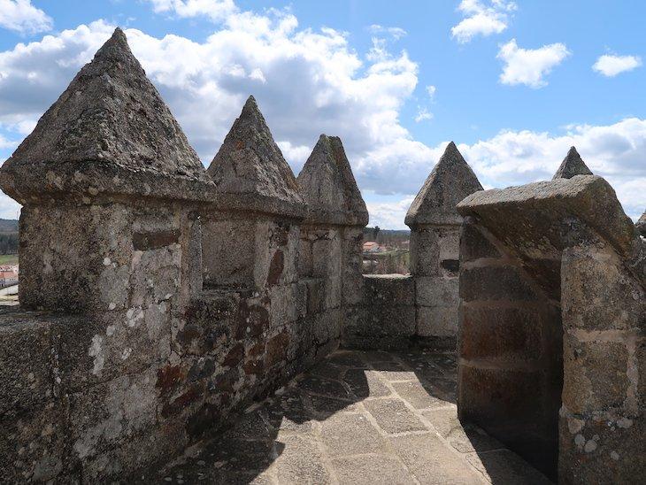 Topo da Torre de Menagem - Castelo de Sabugal - Portugal © Viaje Comigo