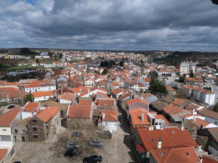 Vista do Castelo de Sabugal - Portugal © Viaje Comigo