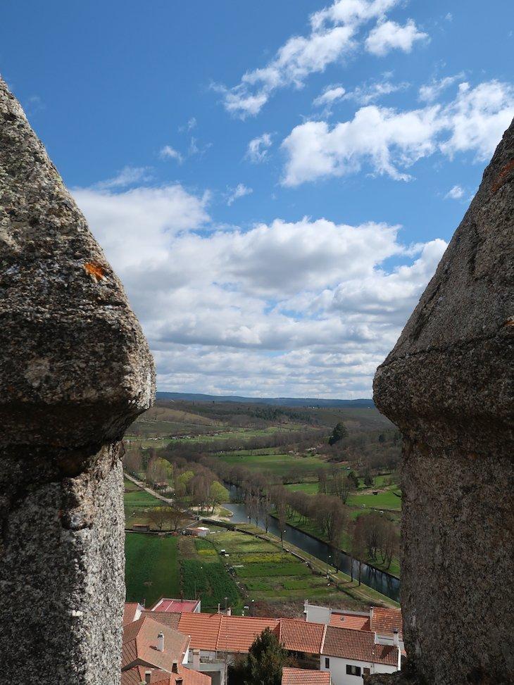 Vista da Torre de Menagem - Castelo de Sabugal - Portugal © Viaje Comigo
