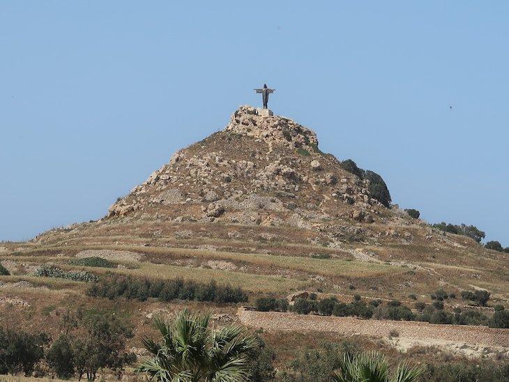 Um Cristo em Gozo? - Malta © Viaje Comigo