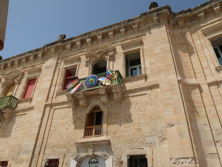 Edifícios da Marina de La Valetta - Malta © Viaje Comigo