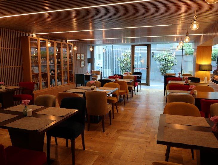 Restaurante do Santa Luzia ArtHotel - Guimaraes © Viaje Comigo
