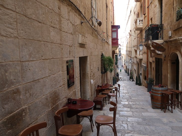 Trabuxu Wine Bar - Valetta - Malta © Viaje Comigo