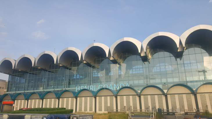 Aeroporto de Bucareste - Roménia © Viaje Comigo