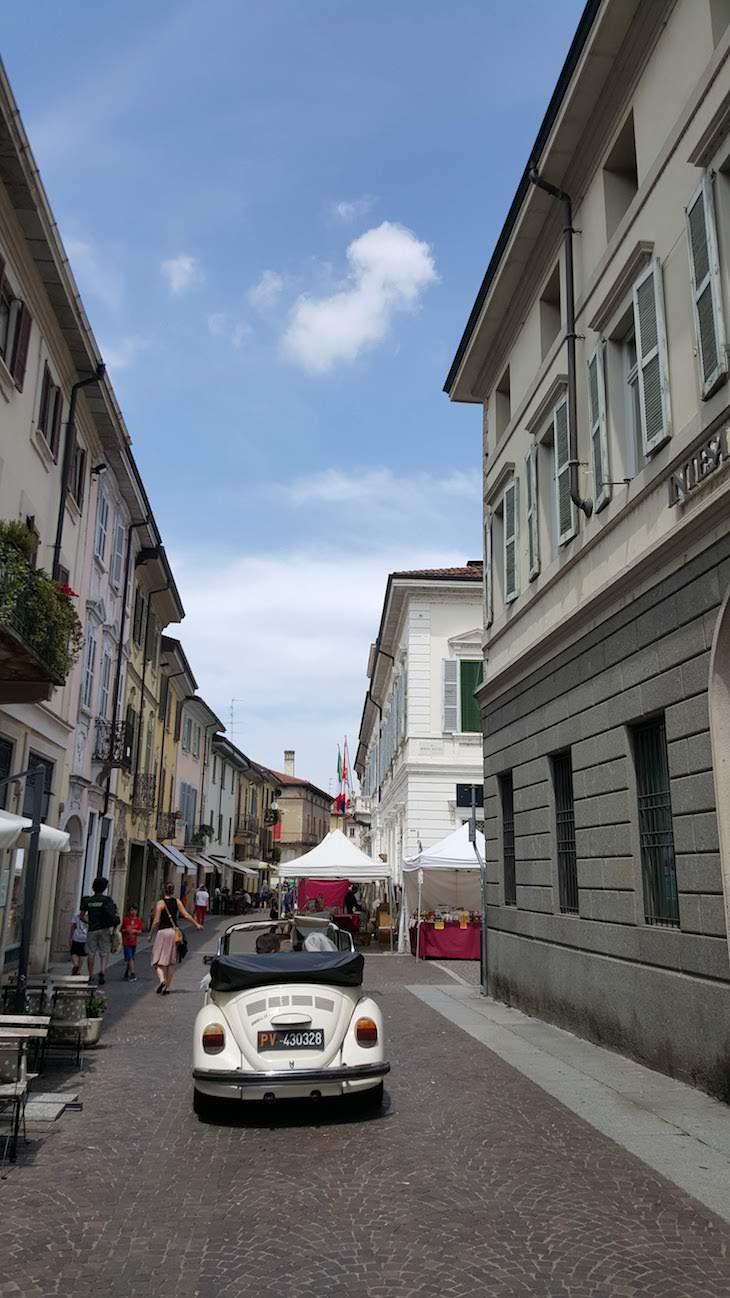 Ruas de Vigevano - Itália © Viaje Comigo