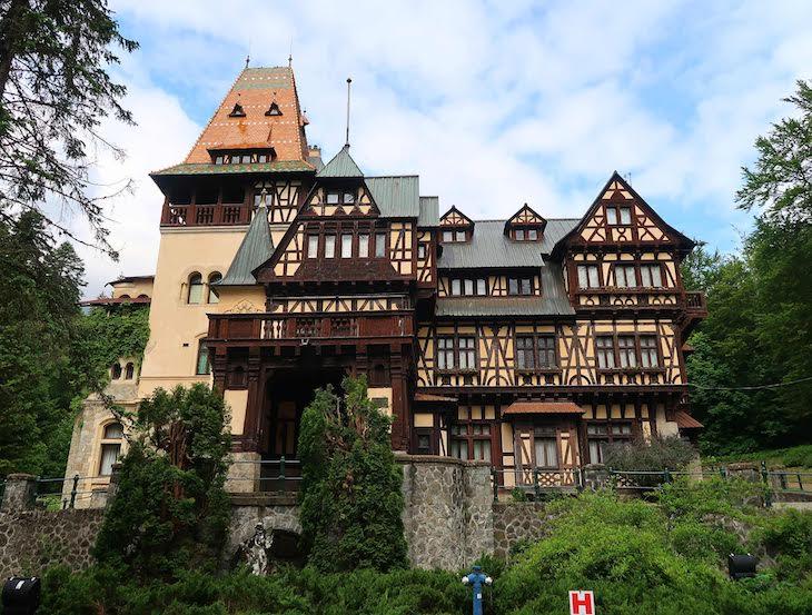 Castelo de Pelişor - Sinaia - Roménia © Viaje Comigo