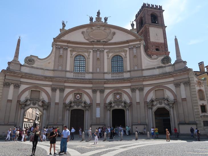 Catedral de Vigevano - Itália © Viaje Comigo.