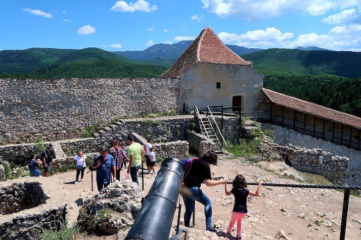Dentro da cidadela de Rasnov - Transilvânia - Roménia © Viaje Comigo