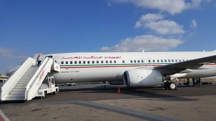 Voar com a RAM - Royal Air Maroc © Viaje Comigo