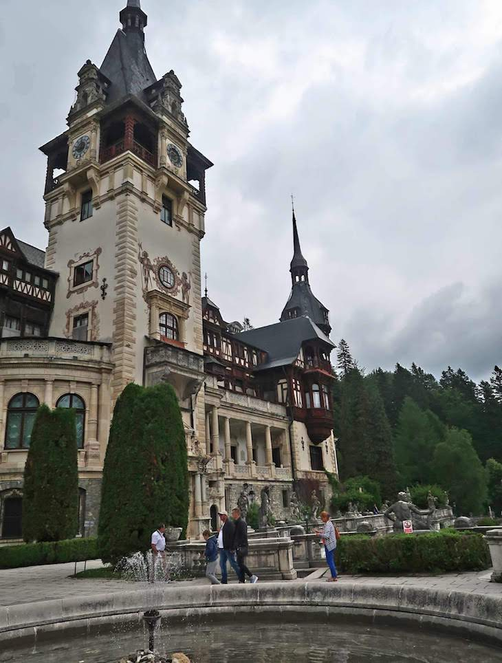 Castelo de Peleş, Sinaia, Roménia © Viaje Comigo