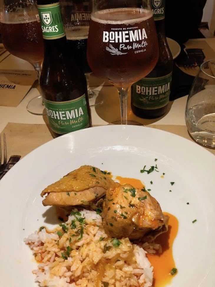 Galinha cerejada - Restaurante Ribalta foi ao Porto, para o Mesas Bohemia © Viaje Comigo