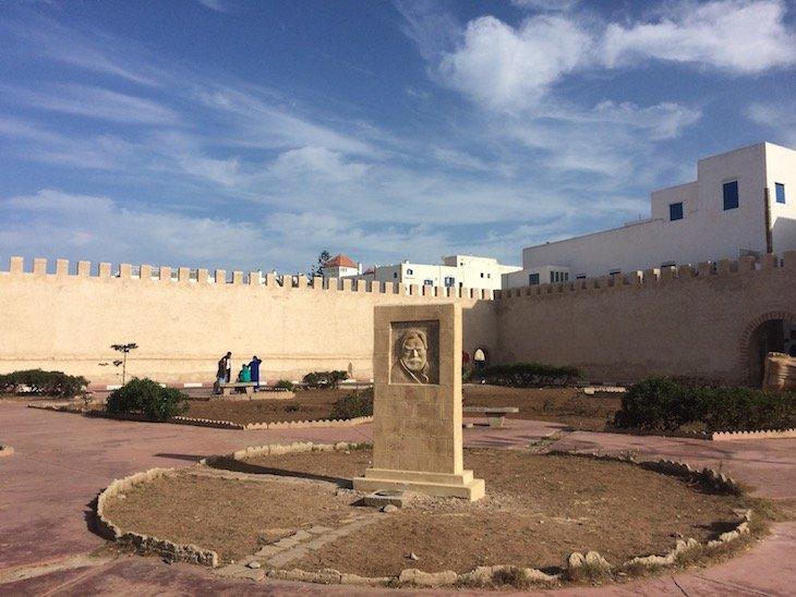 Homenagem a Orson Welles em Essaouira - Marrocos © Viaje Comigo