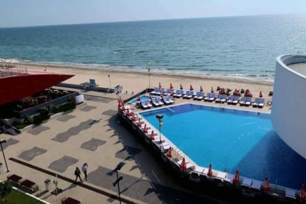 Piscina do Zenith - Top Country Line - Conference & Spa Hotel - Mamaia - Roménia © Viaje Comigo