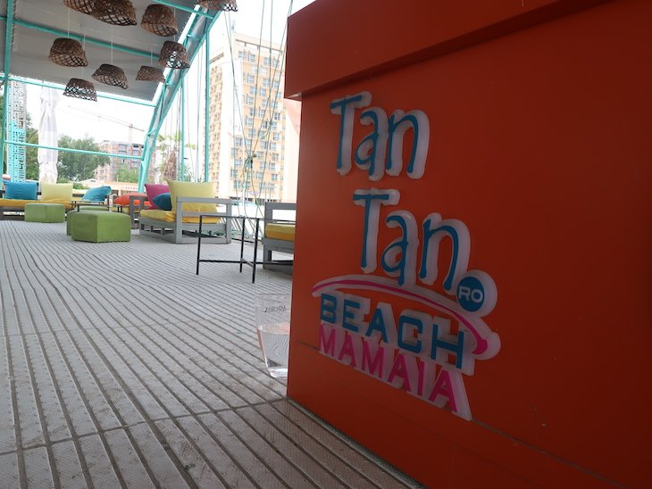 Tan Tan Beach - Mamaia - Roménia © Viaje Comigo