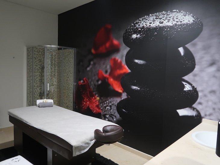Sala de Massagens das Termas de Longroiva - Mêda - Portugal © Viaje Comigo