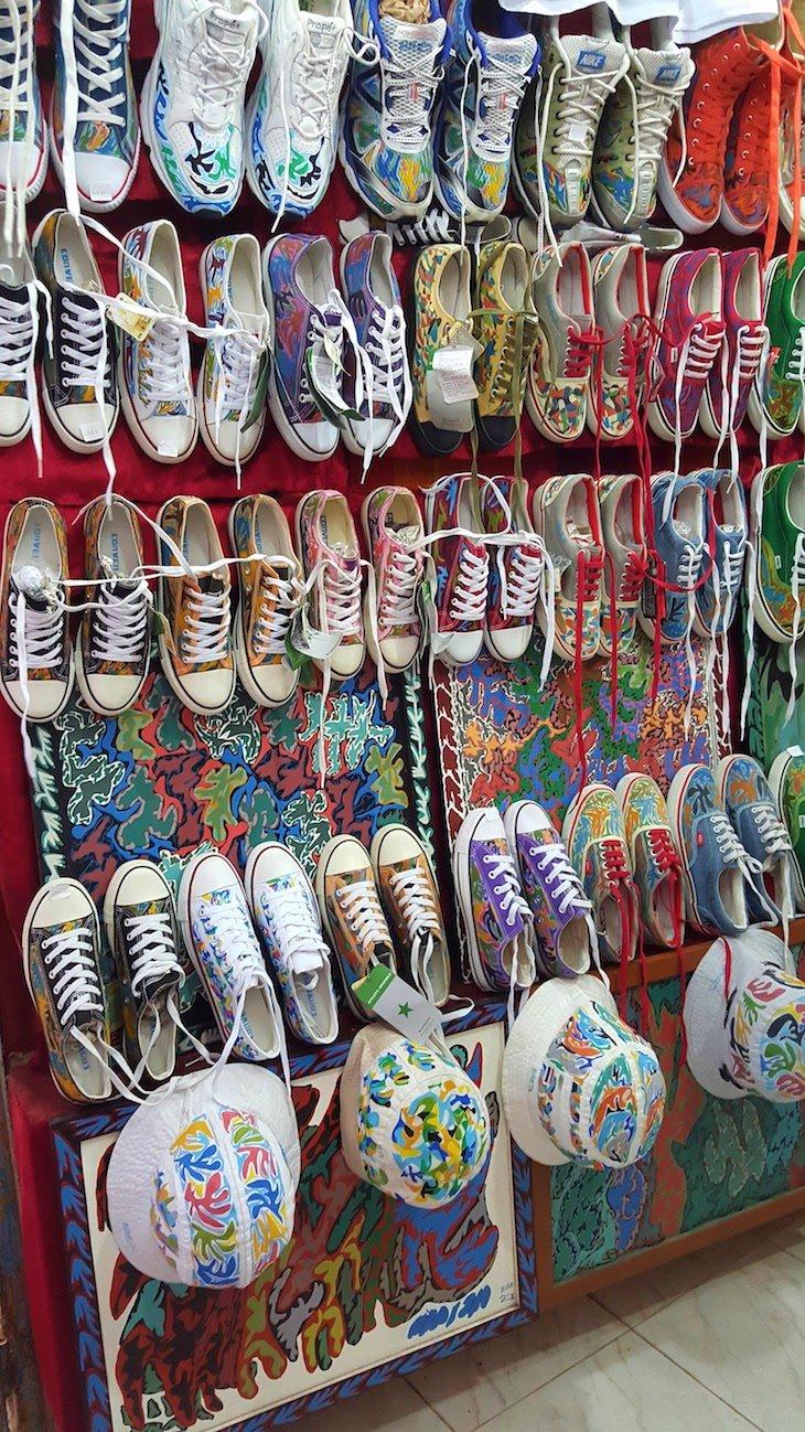 Loja moderna em Essaouira - Marrocos © Viaje Comigo