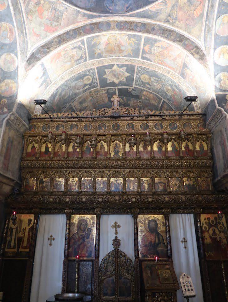 Igreja Stavropoleos - Bucareste - Roménia © Viaje Comigo