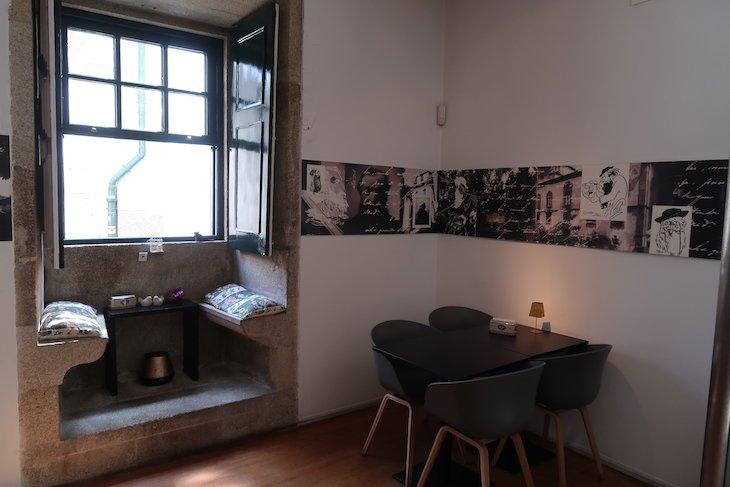 Cafetaria da Casa-Museu Guerra Junqueiro - Porto - Portugal © Viaje Comigo