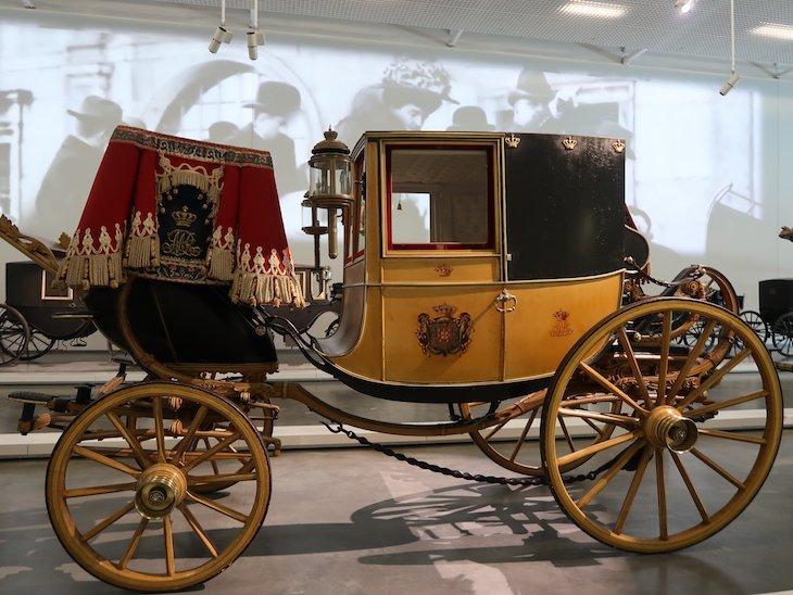 Carruagem de D Maria II -Museu Nacional dos Coches - Lisboa © Viaje Comigo
