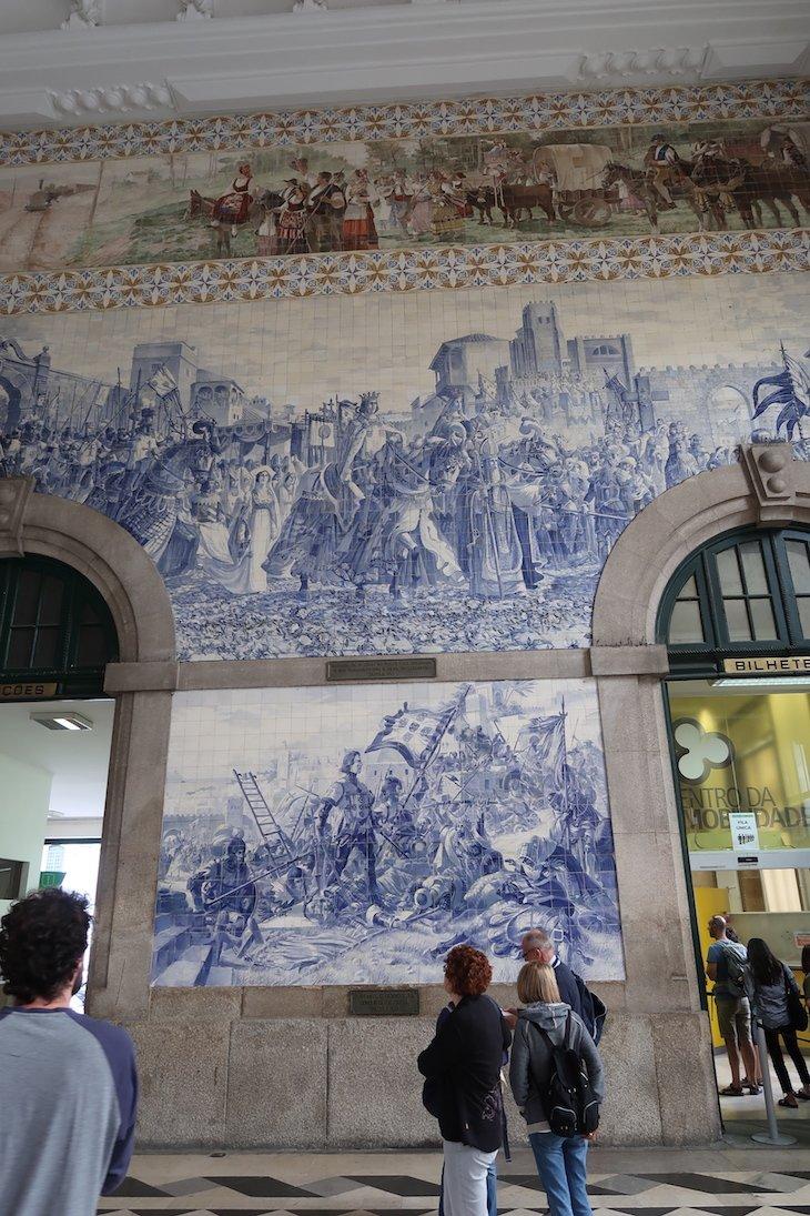 Estação de S. Bento - Porto - Portugal © Viaje Comigo
