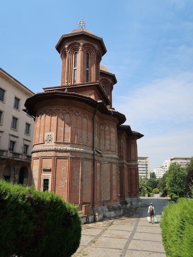 Grande Igreja Kretzulescu ou Crețulescu - Bucareste - Roménia © Viaje Comigo