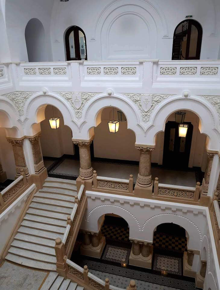 Na Câmara Municipal de Bucareste - Roménia © Viaje Comigo