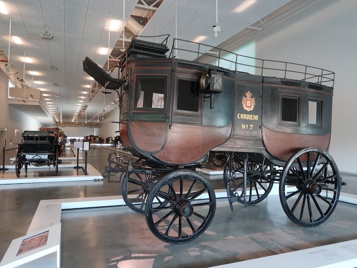 Mala Posta no Museu Nacional dos Coches - Lisboa © Viaje Comigo
