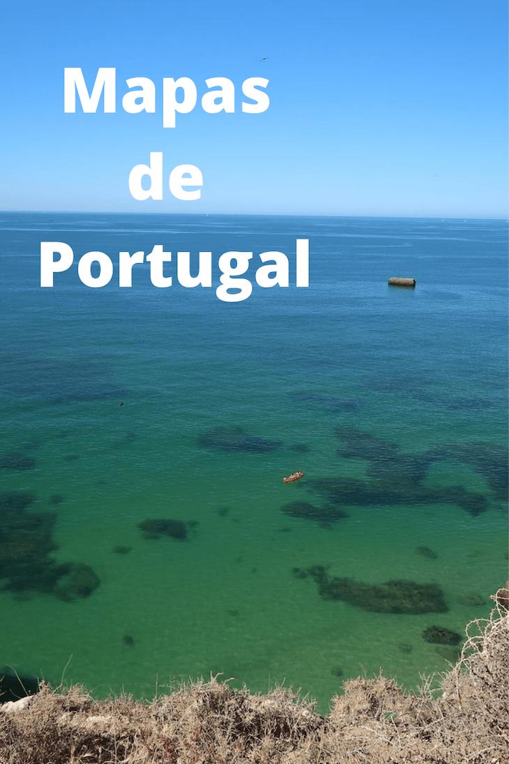 Mapas de Portugal © Viaje Comigo