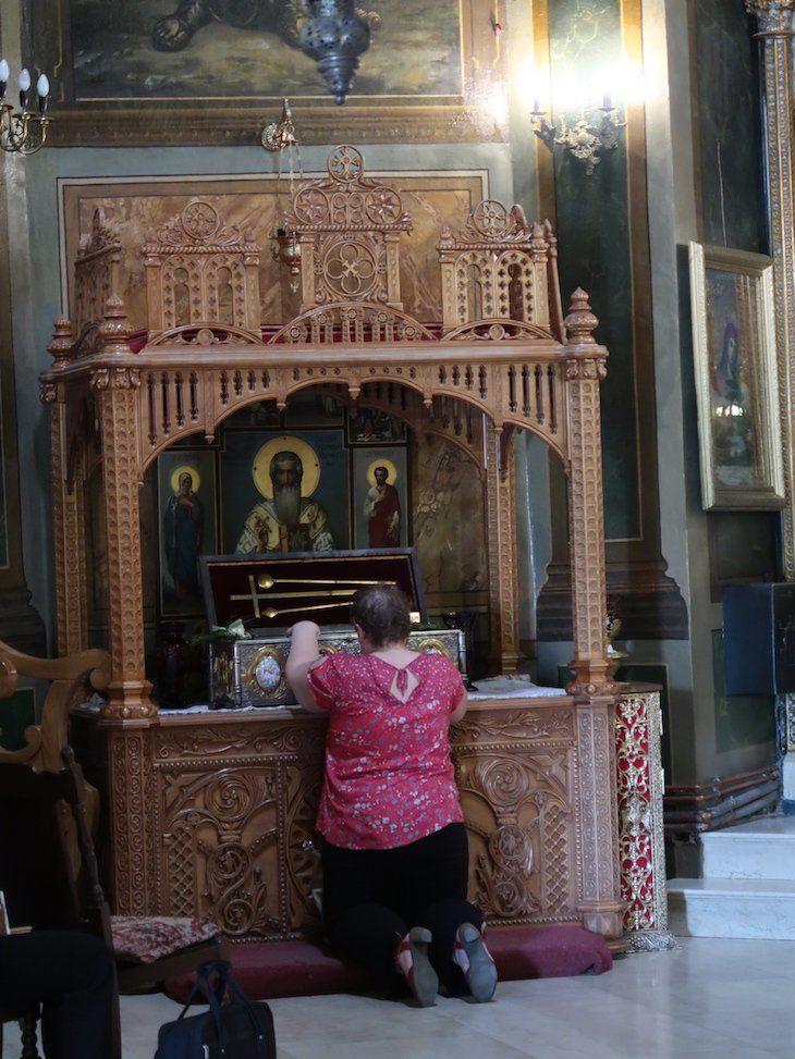 Igreja Zlătari - Bucareste - Roménia © Viaje Comigo