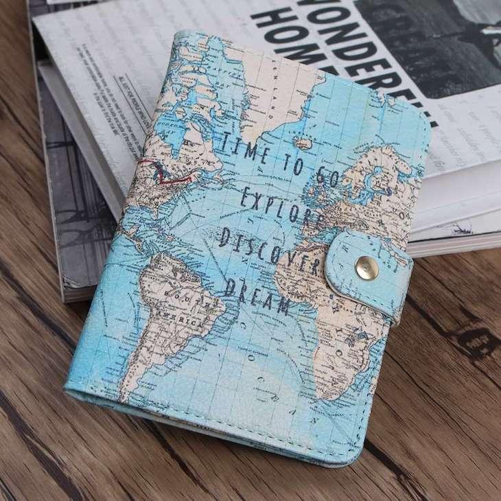 Diversas capas para passaporte