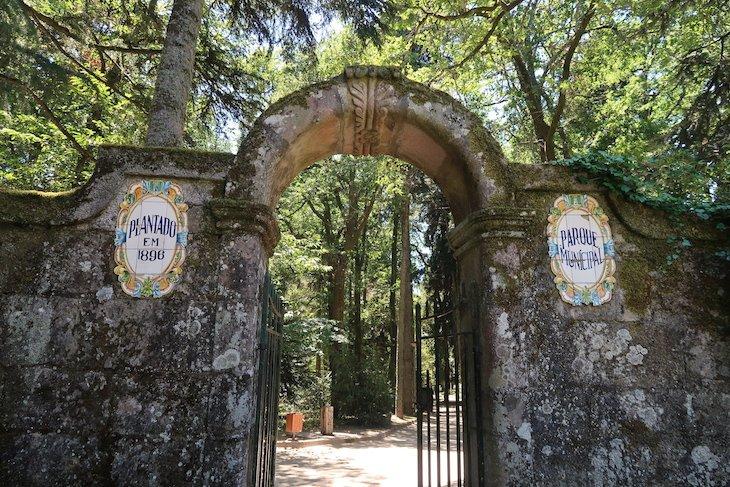 Parque Municipal de Trancoso - Portugal © Viaje Comigo