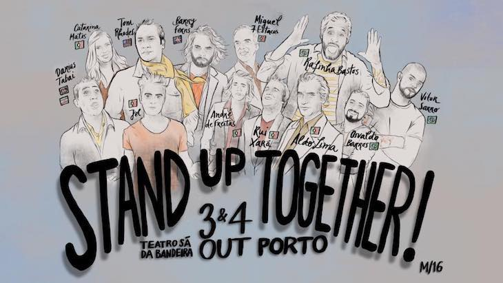 Stand Up Together cartaz