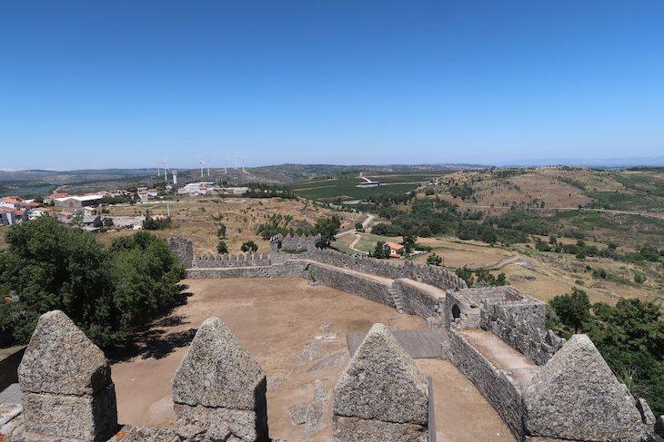 Vista do Castelo de Trancoso - Portugal © Viaje Comigo