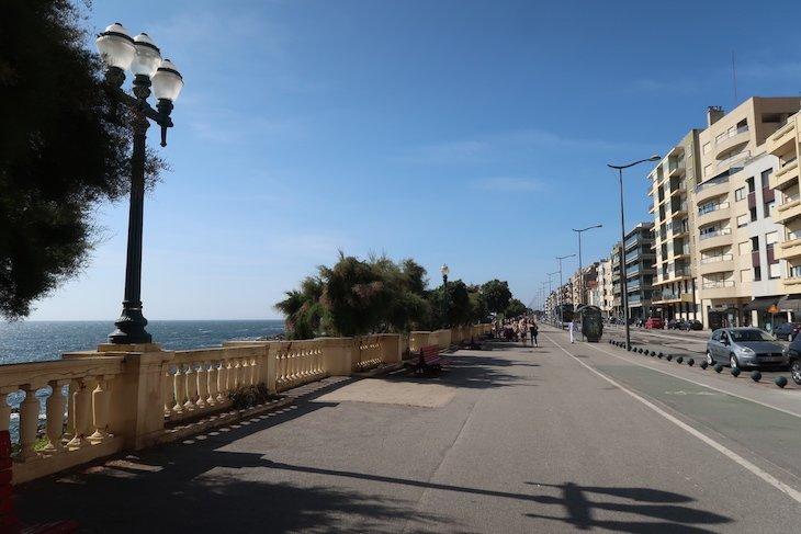 Local de muitos passeios, na Avenida Brasil - Porto - Portugal © Viaje Comigo
