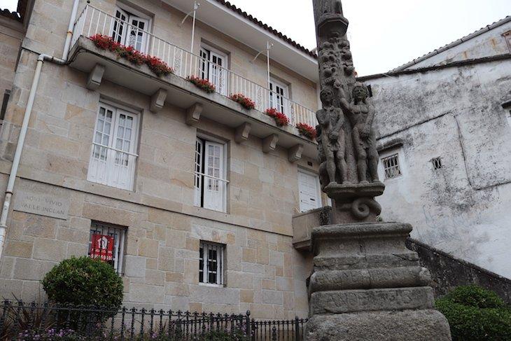 Aqui Viveu Valle Inclan - Centro Historico de Pontevedra © Viaje Comigo