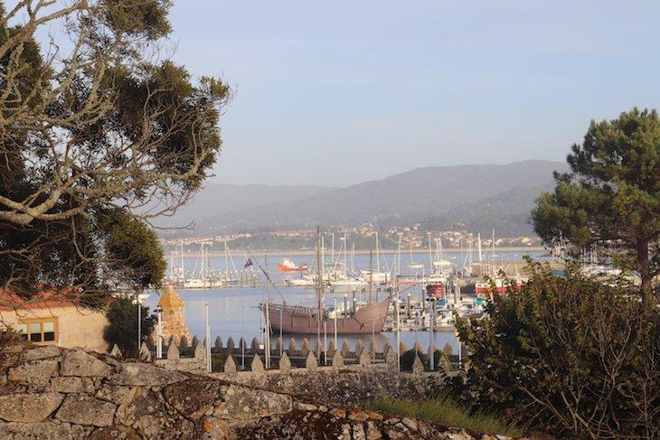 Carabela Pinta, em Baiona - Pontevedra © Viaje Comigo