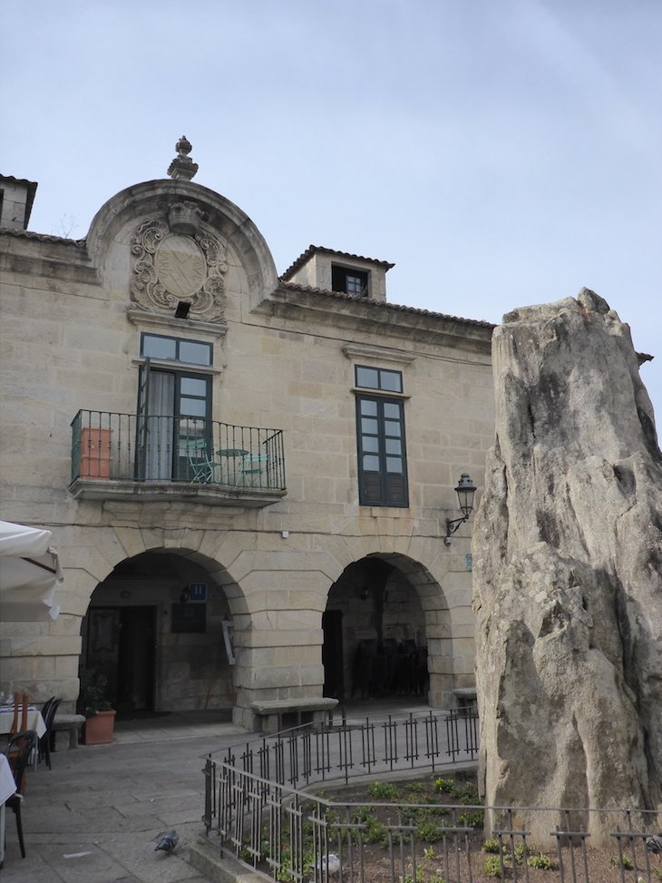 Casa de Dean Mendoza, Baiona - Pontevedra © Viaje Comigo