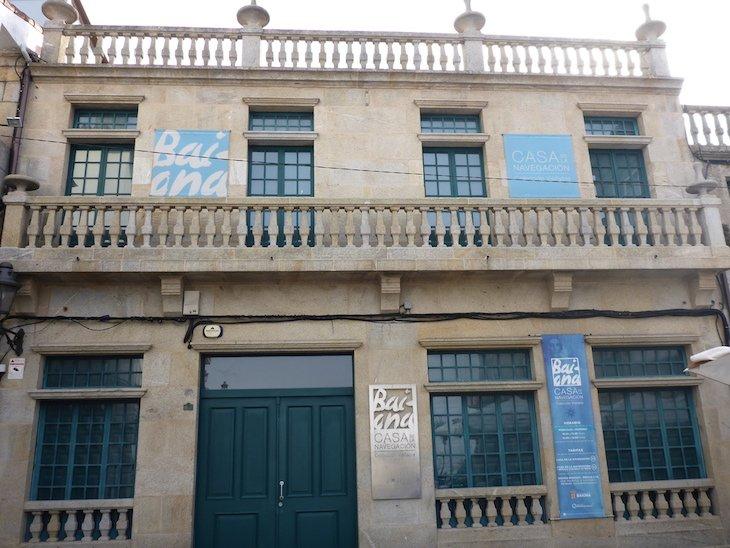 Casa de la Navegación - Baiona - Pontevedra, Galiza, Espanha
