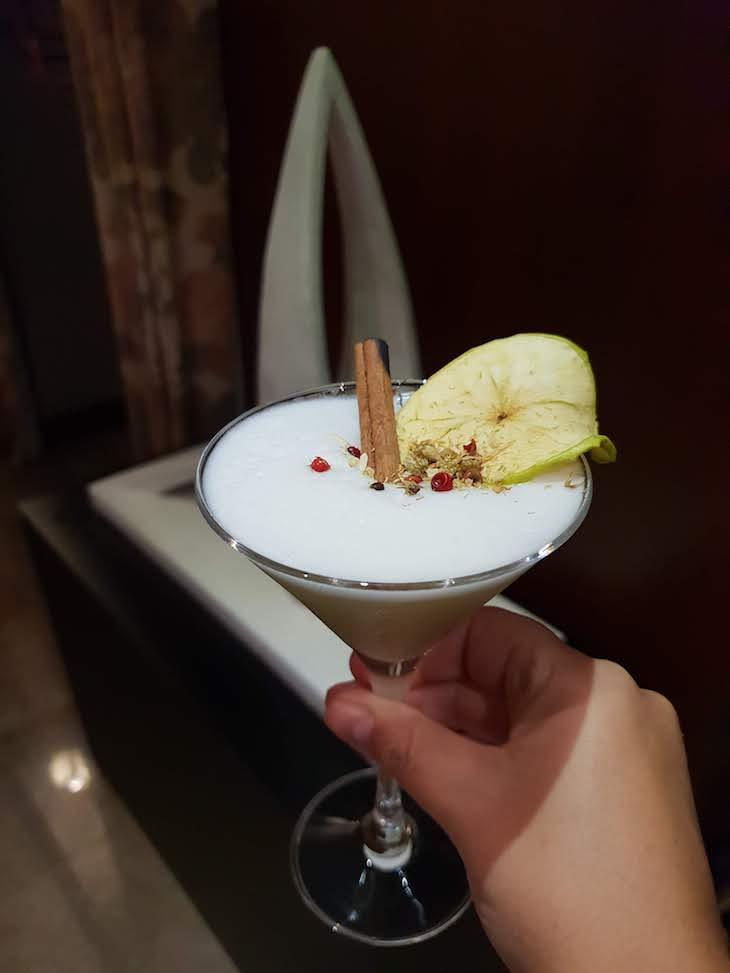 Cocktail no bar do The Artist © Viaje Comigo