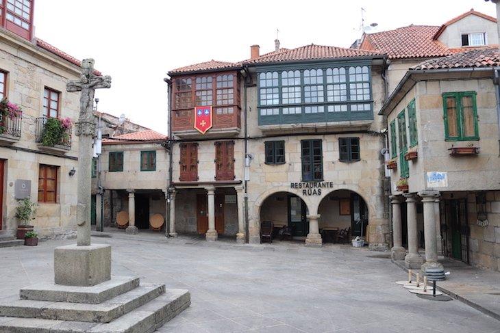 Praza la Leña - Centro Histórico de Pontevedra © Viaje Comigo