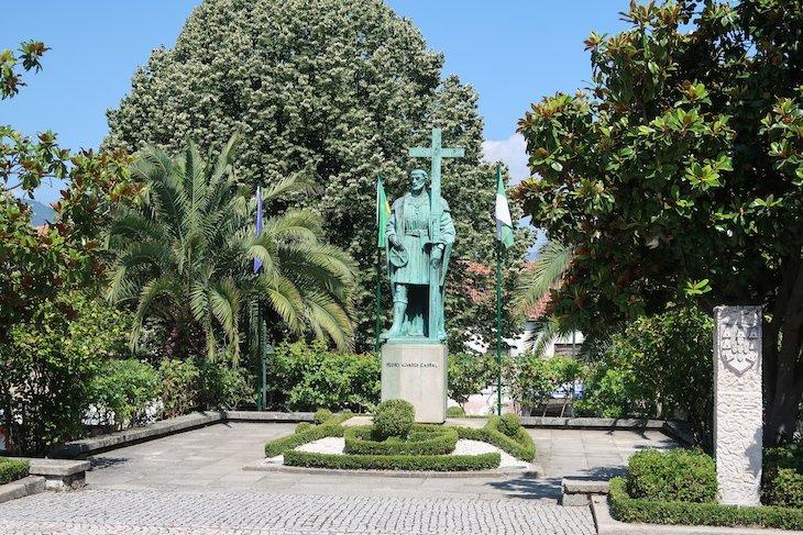 Estátua de Pedro Álvares Cabral - Belmonte - Portugal © Viaje Comigo