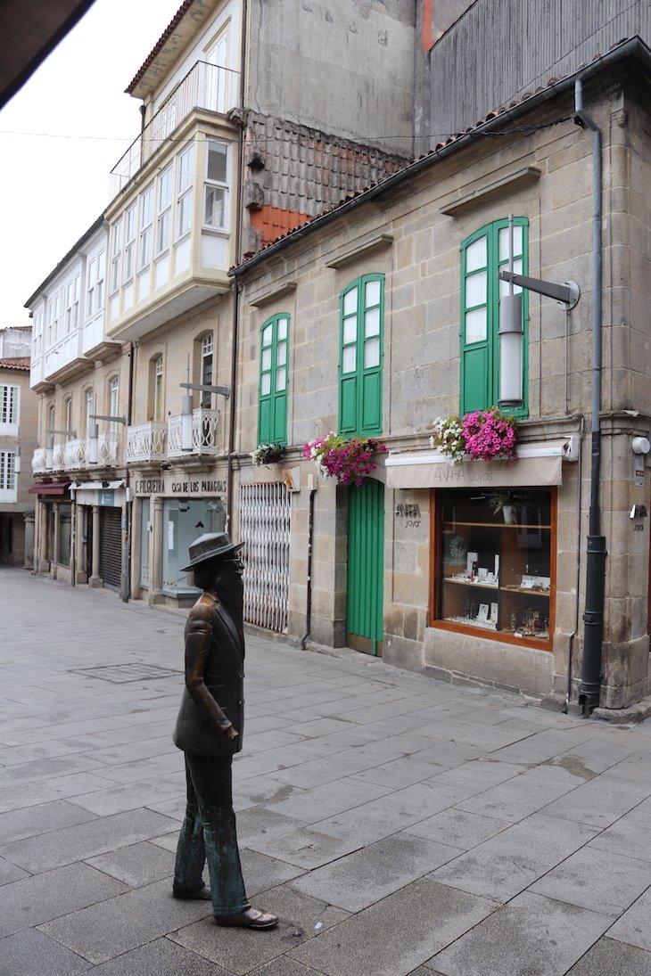 Estátua de Valle Inclán - Centro Histórico de Pontevedra © Viaje Comigo