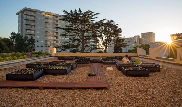 Horta do Somos Restaurant & Lounge, Porto © Direitos Reservados
