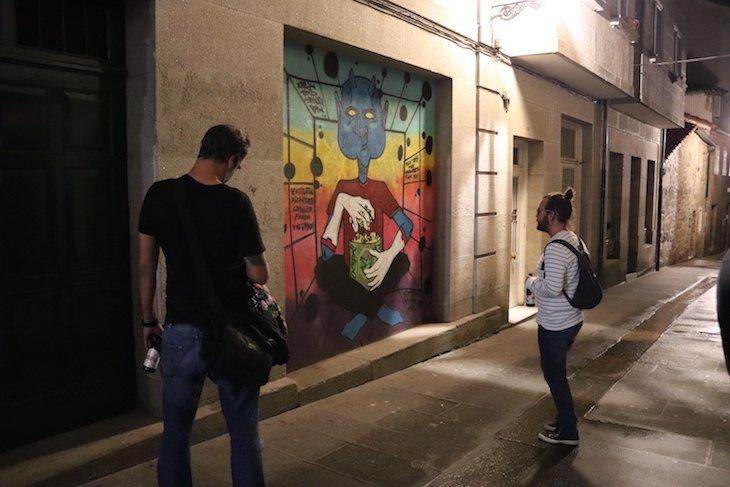 Noite: Bares de Pontevedra - Galiza © Viaje Comigo