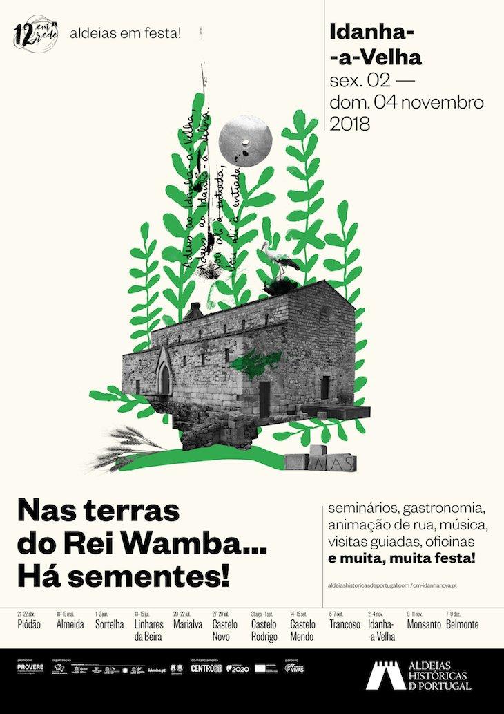 Cartaz da Festa de Idanha-a-Velha de 2 a 4 de novembro